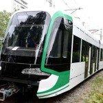 First Addis Abeba tram rolls out