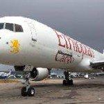 Three Ethiopian Air Lines Crew injured as Cargo plane swerve run way at Kotoka International Airport in Accra