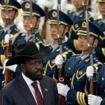 Claims China shipping lethal weapons to Juba via Ethiopia