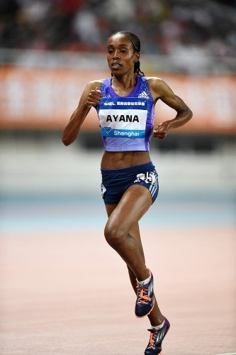Shanghai  Diamond League 2015 : Ayana joins the all-time elite with third best ever