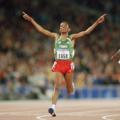 GOLD AGAIN: Gebrselassie retains his Olympic 10,000m crown in Sydney