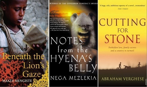 The best books on Ethiopia: Beneath the Lion's Gaze by Maaza Mengiste, Nega Mezlekia's Notes from the Hyena's Belly and Cutting for Stone by Abraham Verghese