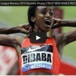 Genzebe Dibaba broke world 1500m women record at Monaco Diamond League