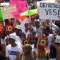 Ethiopians protest in the US