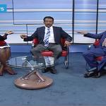Eritrean and Ethiopian Ambassadors to Kenya quarrel in KTN news room