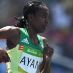 Almaz Ayana won bronze for Ethiopia in women's 5000 meters at Rio Olympic