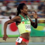 Genzebe Dibaba settled for silver in 1500m final at Rio2016