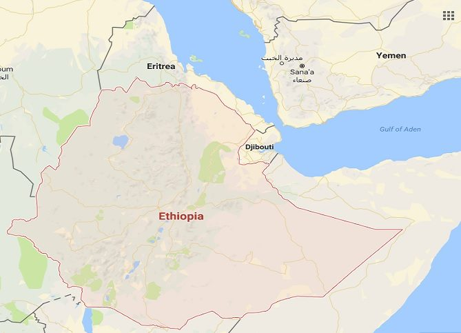 Ethiopia Protests Whats Behind The Trouble In Gondar - Gondar map