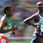 Hagos Gebrehiwot won Silver Medal for Ethiopia