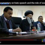 Ethiopia : Mounting state propaganda against  hate speech
