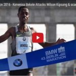 Keneisa Bekele won Berlin Marathon but he may be losing the hearts of Ethiopians