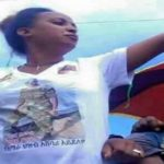 Ethiopia : Young lady abducted  by regime forces in Gonder