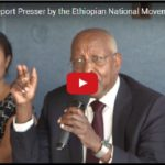Ethiopian National Movement presser at National Press Club