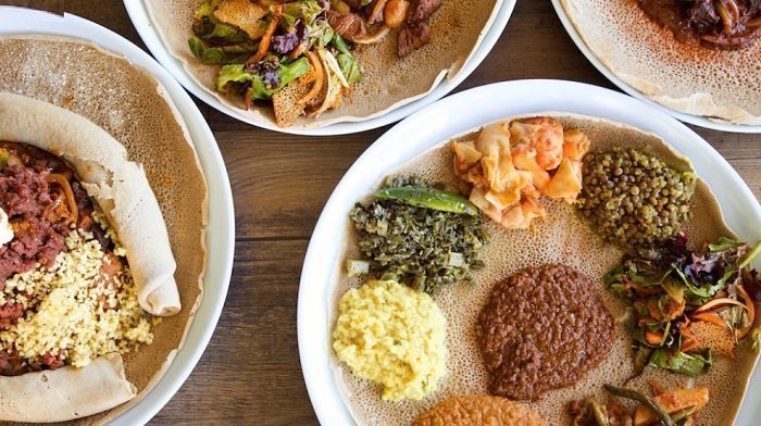 Eyo Restaurant : Dinner at Falls Church's New Ethiopian Restaurant Comes With Live Music and Dancing