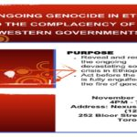 Community Event : The Ongoing Genocide in Ethiopia and the complacency of Western Governments