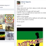 "Ethiopia :  ""I am alive"" – says rebel commander in a facebook update"