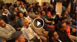 Ethiopian National Movement meeting in Sweden