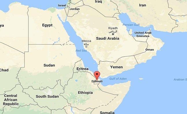 Saudi Military Base In Djibouti Possible Egyptian Military - Map of egypt ethiopia