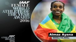 Ethiopia : Almaz Ayana Crowned as IAAF 2016 World Athlete of the Year