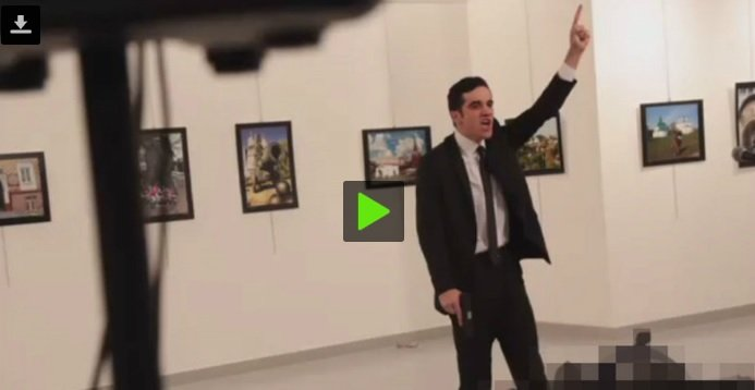 Russian Ambassador to Turkey shotdead in Ankara