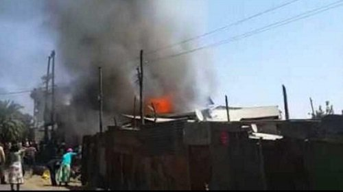 Fire in Addis Ababa and Bahir Dar