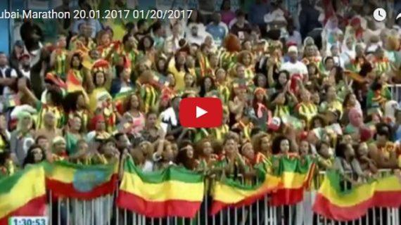 Dubai Marathon 2017 :Big Ethiopian crowed,clean sweep for Ethiopia