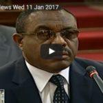 ESAT DC Daily News January 11, 2017 [Amharic]