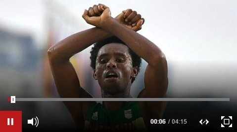 Ethiopia's Feyisa Lilesa Talking to the BBC : 'No regrets' over Rio protest