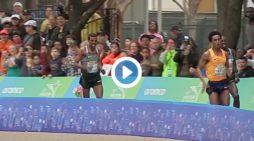 Ethiopia : Meskerem Assefa won Houston Marathon. Feyisa Lilesa finished second