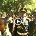 Mirutse Yifter Funeral - Addis Ababa   Picture : Screenshot from EBC Video