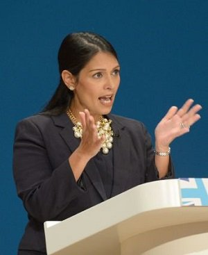 File photo dated 02/10/16 of International Development Secretary Priti Patel, as the Government insisted that overseas aid provided good value for money after it was reported that an Ethiopian girl band is getting £5.2 million in funds to develop a media platform./ News &Star