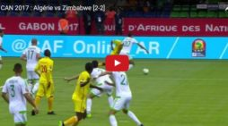 Ethiopian referee gave penalty kick for team Zimbabwe in the match against Algeria