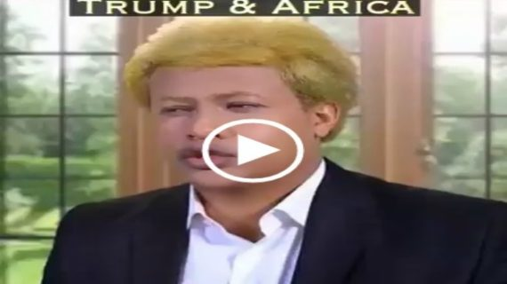 New Ethiopian comedy – Trump – Chisis