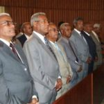 Ethiopia : Derg officials held discussion with Hailemariam Desalegne