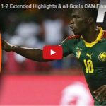 AFCON 2017 : Cameroon claimed cup after beating Egypt