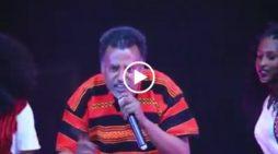 Ethiopian Music : Mekonnen Leake singing Wolaita music