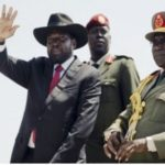 Salva Kiir after concluding his visit to Ethiopia - Source EBC