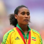 Athletics : Sofia Assefa got Olympic silver medal  in the women's 3000m