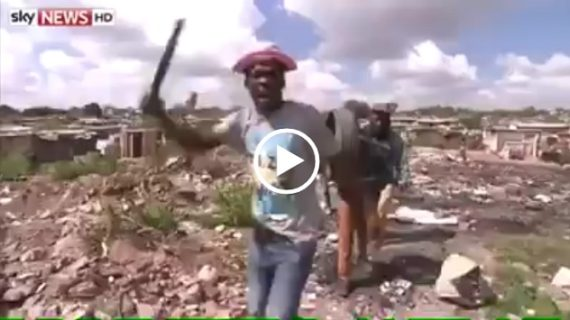 Xenophobic South African explains hate towards African immigrants in South Africa