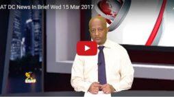 ESAT DC News In Brief Wed 15 Mar 2017