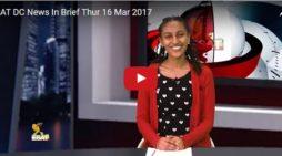 ESAT DC News In Brief Thur 16 Mar 2017
