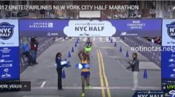 Feyisa Lilesa won United Airlines New York City Half Marathon