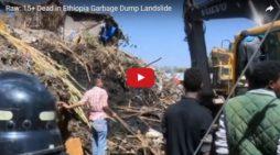 Video: Garbage Dump Landslide in Addis Ababa