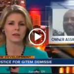 Gitem Demissie - Police release video Ibex restaurant owner assassination - screenshot from News Channel 5
