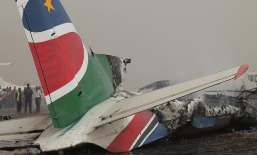 Plane crash - South Sudan - African News