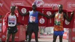 Kenenisa Bekele narrowly lost to Daniel Wanjiru at London Marathon 2017