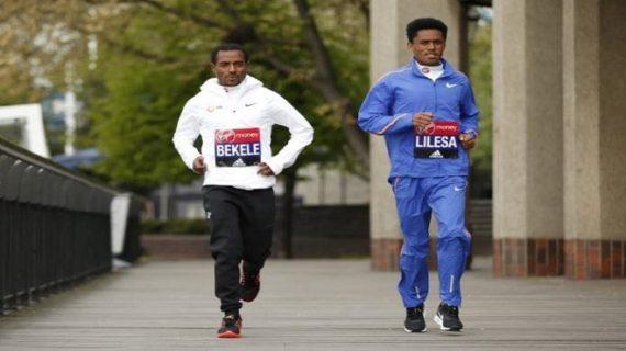 Possible showdown between Feyisa Lilesa and Kenenisa Bekele at London Marathon this sunday
