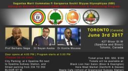 Ethiopian National Movement (ENM) Public Discussion in Toronto