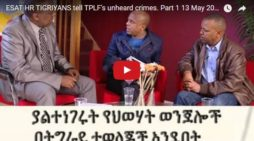 Tigreans share what seem to be critical view on discontent in Tigray