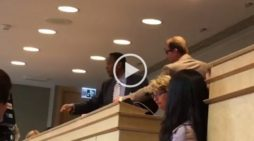 An Ethiopian activist took opposition to Tedros Adhanom to World Health Assembly in Geneva ; disrupted the meeting